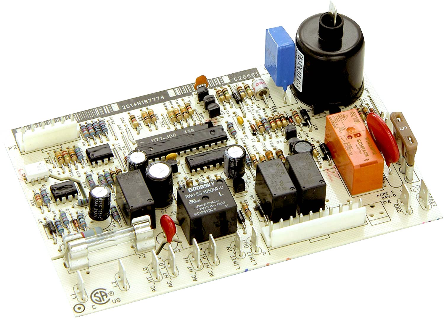 Norcold Power Board 628661 (new style board fits most models!)